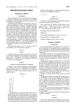 Decreto-Lei n.º 89/2013