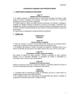 ANEXO I_Colectânea de Legislação sobre
