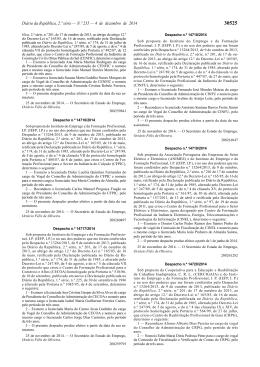 Diário da República, 2.ª série — N.º 235 — 4 de dezembro
