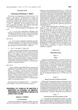 Declaração de Retificação n.º 39/2015