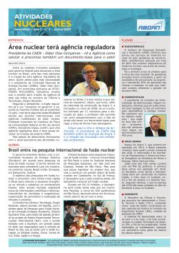 Ano 1 - n° 2 - Atividades Nucleares