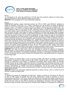enunciados e questoes - LFG – Exames OAB, Concursos Públicos e
