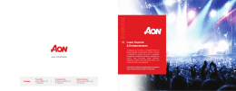 Folder Eventos Aon Risk Solutions