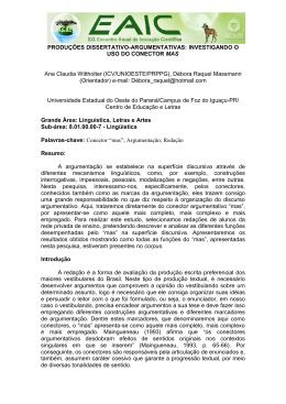 INVESTIGANDO O USO DO CONECTOR MAS Ana Claudia