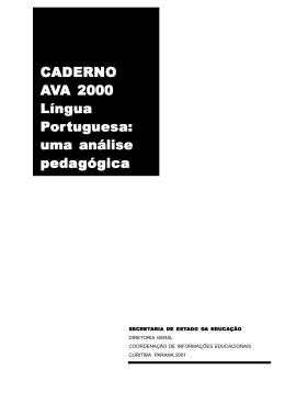 saeb portug pr - SME Duque de Caxias