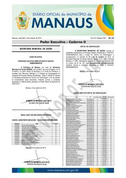 3750 caderno 2 - Diário Oficial do Município