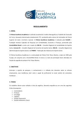 Regulamento_13º Prêmio Excelência Acadêmica