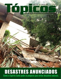 DESASTRES ANUNCIADOS - CREA-ES