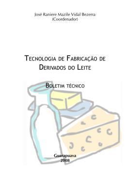tecnologia de fabricação de derivados do leite
