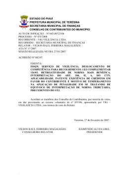 estado do piauí prefeitura municipal de teresina secretaria