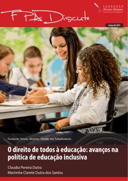 O direito de todos à educação