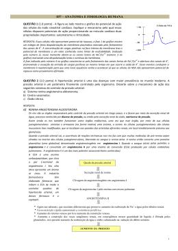 037 – ANATOMIA E FISIOLOGIA HUMANA