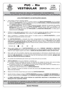 1o DIA - TARDE - GRUPO 5.indd - PUC-Rio