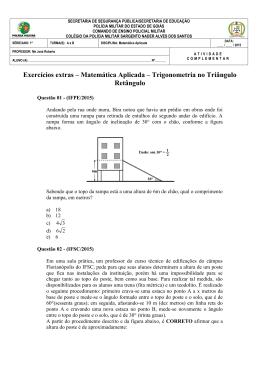 Atividade de Matemática Aplicada
