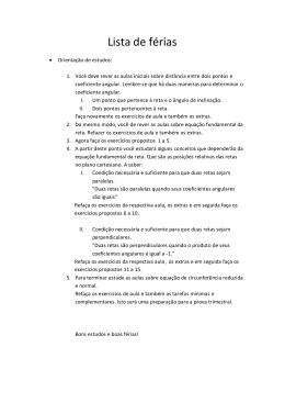 matemática b - Colégio Guilherme de Almeida