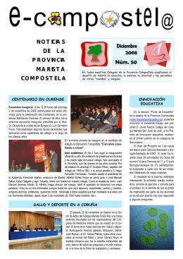 Boletín 50 - Maristas Compostela