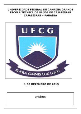 Prova - Comprov - Universidade Federal de Campina Grande