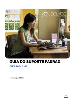 GUIA DO SUPORTE PADRÃO