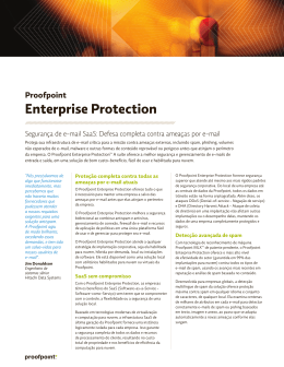 Proofpoint Enterprise Protection