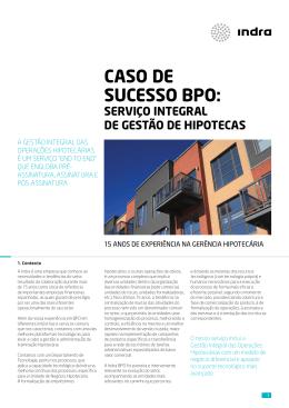 Caso de éxito BPO: Servicio Integral de Gestión de Hipotecas
