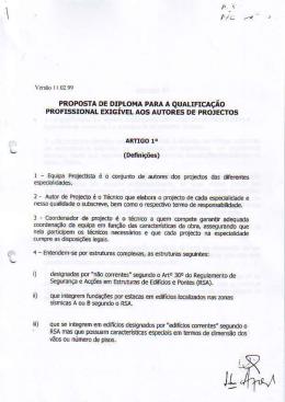 Protocolo celebrado em 1999 entre ANET/OE