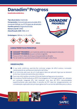 Ficha Técnica CLP Danadim® Progress