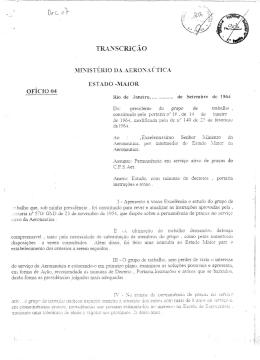 Ofício Reservado nº 04 - PORTAL dos Cabos da F.A.B.
