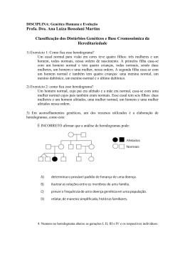 Profa. Dra. Ana Luiza Bossolani Martins Classificação dos
