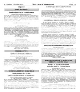 Diário Oficial do Distrito Federal