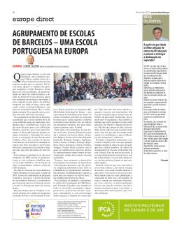 agrupamento de escolas de barcelos – uma escola portuguesa na