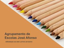 Reunião 1º Ciclo e Pré Escolar - Agrupamento de Escolas José