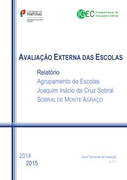 Relatório Agrupamento de Escolas Joaquim Inácio da Cruz Sobral