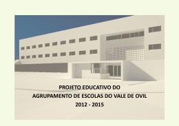 Projeto Educativo - Agrupamento de Escolas de Vale de Ovil