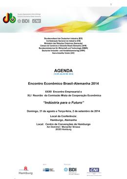 Encontro Econômico Brasil-Alemanha 2014