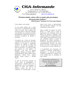 Ciga-Informando 16 - Ciga