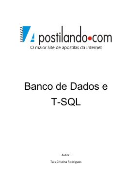 Sql Server - Pedro F. Carvalho