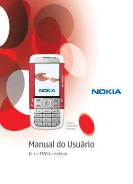 Manual do Usuário Nokia 5700 XpressMusic