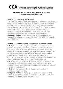 CCA CLUBE DE COMPETIÇÃO AUTOMOBILÍSTICO