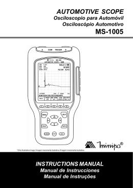 MS-1005 - Minipa