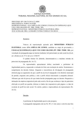 RP 1380-79 - Tribunal Regional Eleitoral do Rio Grande do Sul