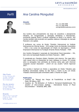 Ana Carolina Monguilod Perfil