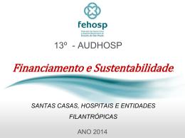 Financiamento e Sustentabilidade - Mauricio Almeida Dias