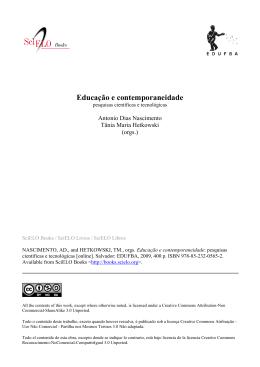 Educação e contemporaneidade pesquisas