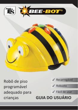 Robô de piso programável adequado para crianças GUIA DO