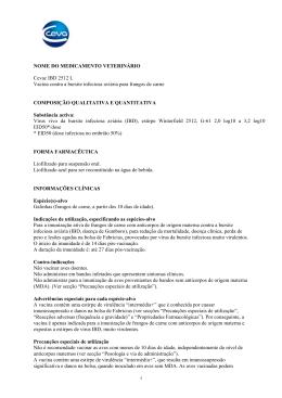 Cevac IBD 2512 L Vacina contra a bursite infeciosa