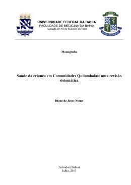 Diane de Jesus Nunes - RI UFBA