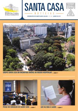 Santa Casa Notícias - Edição 260 - Julho de 2013