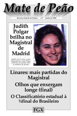 Judith Polgar brilha no Magistral de Madrid