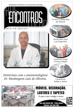 jornal encontros | junho de 2013