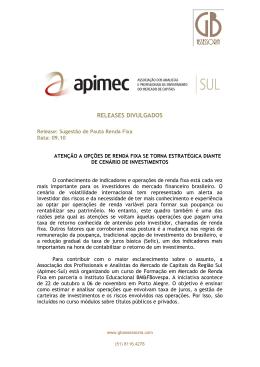 Release - projup.com.br